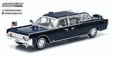 Presidential Limo * 1961 Lincoln Continental * John F Kennedy * Greenlight 1:43