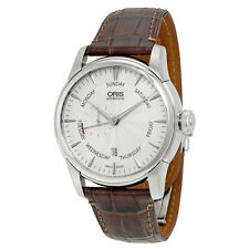Oris Artelier Automatic Small Second Pointer Day Stainless Steel Mens Watch