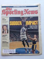 Sporting News Shaquille O'Neal Magic Feb. 15, 1993 very sharp no creases
