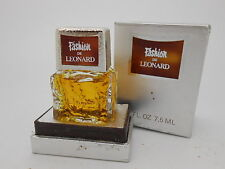 Vintage Fashion de Leonard 7.5 ml perfume parfum in box rare!