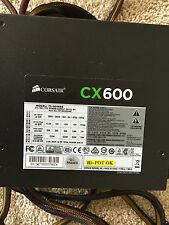 CORSAIR CX600 600W PSU ATX 12V 80 PLUS BRONZE CERTIFIED POWER SUPPLY