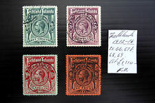 FALKLAND ISLANDS 1912 G.V As Described NEW LOWER PRICE FP6921