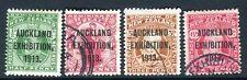 Nuevo zealand-1913 Auckland exhibición. una multa utilizado Set Sg 412-415