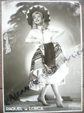 PHOTO ANCIENNE 1930 DANSEUSE FLAMENCO CABARET RAQUEL DE LORCA