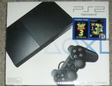 Sony PlayStation 2 Slim Black Console NEW #211 w/ Toy Story 3 Bundle PS2 Sealed