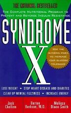 NEW Syndrome X by Burton Berkson, Jack Challem, WT42319