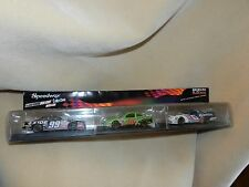 Nascar 3 Cars Speedway Collection With Display Case 5 Inch Long 99 18 6 1:43
