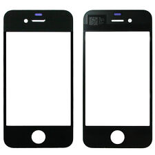 iPHONE 4 FRONT GLASS REPLACEMENT DISPLAY DISC REPAIR SET TOUCH SCREEN BLACK