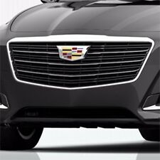 2015-2017 Cadillac CTS Sedan GM OEM Bright Chrome Front Grille NEW 23473019