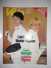 VELO MAGAZINE N°183 NOVEMBRE 1983 L'AUTRE DUEL SIMON - FIGNON