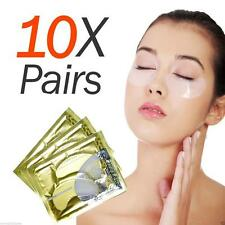 10 Pairs Anti-Wrinkle Dark Circle Collagen Under Eye Patches Pad Mask Bag Gel 1v