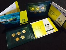 2016 $2 Australian Olympic Team Coloured Coin Set Collection - UNC