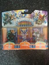 Skylanders Giants - Gill Grunt, Flashwing, Double Trouble - NEU OVP