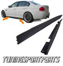 SIDE SKIRT ABS FOR BMW E90 E91 05-12 SERIES 3 SPOILER BODY KIT MINIGONNE NEW
