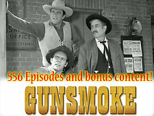Gunsmoke Radio Show - OTR - 556 Episodes and Extras! - 2 MP3 DVDs