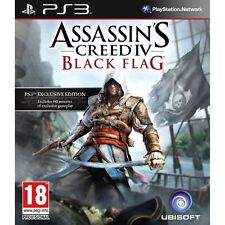DISC ONLY / Assassin's Creed IV: Black Flag (Sony PlayStation 3, 2013) #D27
