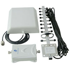 65dB GSM 1900MHz Cell Mobile Cellular Phone Signal Booster Repeater Yagi antenna