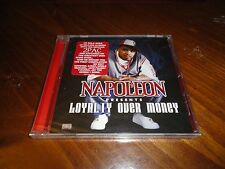 Napoleon - Loyalty Over Money Rap CD - NOBLE Jay Tee A-WAX MC EIHT Haystak