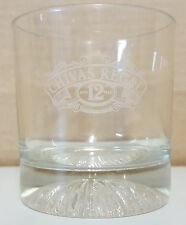 (I Chivas Regal 12yr Old Blended Scotch Whiskey Promotional Tumbler Liquor Glass