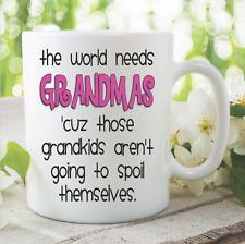 Novedad Divertida Tazas Grandma Grandkids Nietos Día De La Madre WSDMUG895