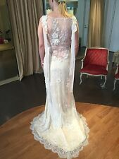 Claire Pettibone Aphrodite wedding gown - FREE SHIPPING in US mainland only