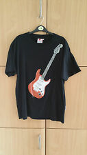 Great Men's thumbs up top size M with a picture of a guitar