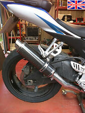 Suzuki GSXR600 K6-K7 06-07 SP Engineering Carbon Fibre Round Moto GP XLS Exhaust