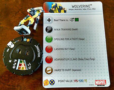 Wolverine #005 from AvX with card Avengers vs. X-Men Heroclix set