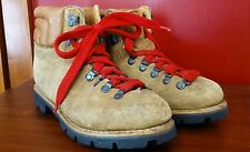 Vintage hiking boots 1970-80's Red laces (leather) US mens size 8.5
