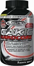 MUSCLETECH GAKIC HARDCORE 128 tablets muscle growth