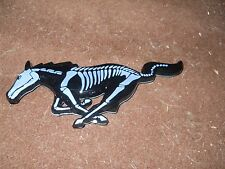 2005 2006 2007 2008 2009 FORD MUSTANG SKELETON HORSE GRILL GRILLE EMBLEM NEW