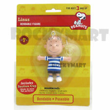 Peanuts LINUS Bendable ( DANGLER ) Cartoon Figure Suction Cup Collectible RM1858