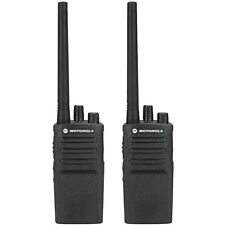 Motorola RMV2080 Professional Two Way Radio 8 Channels Military Grade 2 Pack New