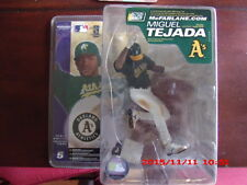 MIGUEL TEJADA McFARLANE SPORTSPICKS MLB SERIES 5 GREEN OAKLAMD A`S UNIFORM
