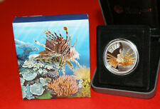 Australia 2009 - LIONFISH Australian Sea Life The Reef - Silver Coin 50c