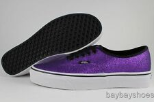 VANS AUTHENTIC GLITTER HELIOTROPE PURPLE SHOES MENS/boys 3.5 WOMENS 5 NEW