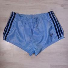 "ADIDAS 32-34"" Glanz Beckenbauer Vintage Sprinter Rare High Cut Shorts D7 #D3897"