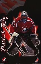 SPORTS POSTER~Team Canada Patrick Roy Olympics Montreal Canadiens NHL Hockey New
