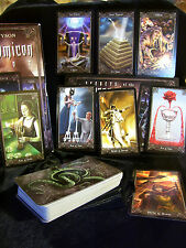 BRAND NEW & SEALED! NECRONOMICON TAROT CARD & BOOK ORACLE DIVINATION & THE DEAD