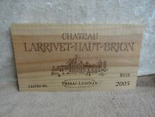 2005 CHATEAU HAUT BAILLY LARRIVETWOOD WINE PANEL