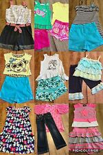 Girls Clothes Sz 5T-6T Spring Summer Fall Outfits Lot Of 21 Pc