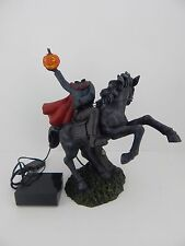 Dept 56 Spotlights Halloween Headless Horseman Large Lit Figurine New #4043403