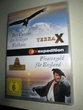 DVD - Terra X - Der Canyon der heiligen Vulkane + Piratengold fuer England