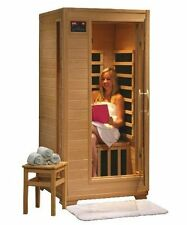 Buena Vista - Hemlock 1 Person FAR Infrared Sauna With Ceramic Heaters - SA2400