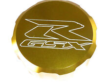 SUZUKI GSXR600 GSXR750 FRONT BRAKE MASTER CYLINDER SCREW TOP LID CAP GOLD B13H