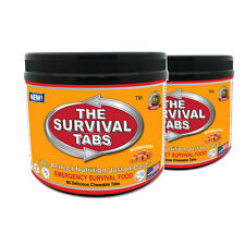 2x90 Tabs Survival Non-GMO Varieties Food Supply for Army Student Camping (BUT)