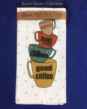 KAY DEE GOOD COFFEE FLOUR SACK TOWEL 100% PREWASHED COTTON FREE SHIPPING US