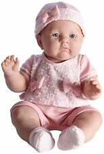 Lily  18'' Baby Girl  in Pink Sweater  Outfit by JC Toys Berenguer, Anatomically