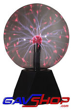 8 inch Plasma Ball Lighting Effect Light with Touch and Sound to Light - A18S