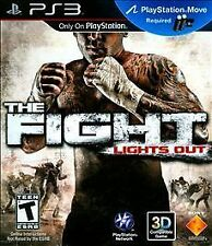 THE FIGHT LIGHTS OUT PS3 MOVE! BOXING, BRAWL, KNOCKOUT, STREET FIGHTER PUNCH